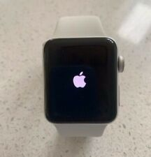 Apple Watch Series 2 38mm Stainless Steel Case White Sport Band