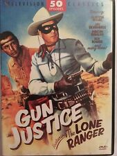 Gun Justice Featuring The Lone Ranger (DVD, 2009, 4-Disc Set)