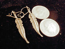 bling sterling silver plated wild animal bird eagle feather ear ring hip hop hot