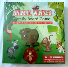 The Animal Winner Family Board Game ~ Educational & Fun ~ NIB ~ Factory Sealed