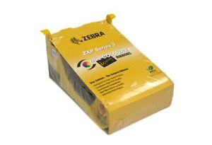 Genuine Zebra 800033-840 YMCKO ZXP 3 Series Color Ribbon 200 Images - New