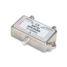 Miscelatore commutatore switch splitter 2 vie uscite sat antenna