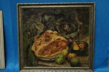 Alfred T. Bastien Still Life With Fruit O / C Lot 120