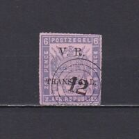 TRANSVAAL SOUTH AFRICA 1877, SG# 114, CV £65, Used