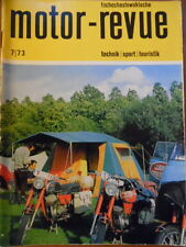Tschechoslowakische MOTOR REVUE  7 - 1973 * Skoda CZ Six-days Jawa Geländesport