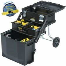 Mobile Workstation Tool Box Chest Cabinet Tools Storage Portable Rolling Cart US
