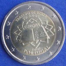 """PORTUGAL -  2 EUROS Gedenkmünzen 2007  """" Römische Verträge """""""