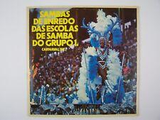 Sambas De Enredo Das Escolas De Samba Do Grupo 1 Vinyl LP Record Album Carnaval