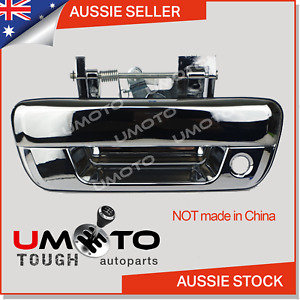 Holden Rodeo RA Ute (2003-08) Tailgate Handle (Chrome) WITH Lock Hole - AU Stock