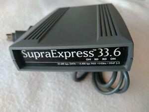 VINTAGE SupraExpress Modem 33.6 Apple Conexión