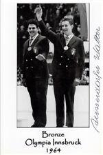 Walter Ausserdorfer (ITA) Olympia 1964 Innsbruck original signiert/signed !!!