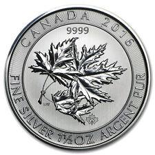 Canada Multi Maple Leaf 2016 1,5 once argent 1,5 oz 8 dollars