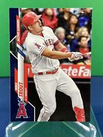 2020 Topps Update Mike Trout Royal Blue Parallel Active Leaders #U-243 RARE 🔥🔥