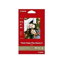 """CANON 6"""" x 4"""" 10cm x 15cm PHOTO PAPER PLUS GLOSSY 260/275GSM 50 SHEETS - PP-201"""