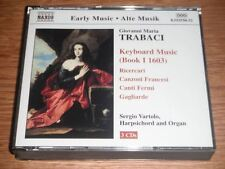 Trabaci: Keyboard Music, Book 1 1603 - Early Music - Sergio Vartolo (3xCD)