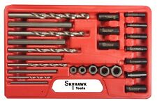 25 Pc Screw Extractor Easy Out drill and guide set Broken Screws Bolts Remover