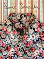 PAUL SMITH SHIRT Size XXL - Beautiful FLORAL Design - SUPER-COOL & TOTAL CLASS !