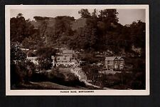 Montgomery - Plough Bank - real photographic postcard