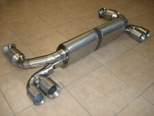 Porsche 996 TT Twin Turbo & GT2 01-05 Top Speed Titanium Exhaust Systems Catted