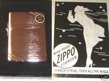 Zippo 1935 Replica Brushed Chrome Lighter w/ Slashes