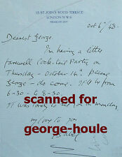 ISABEL JEANS - (3) AUTOGRAPH LETTERS - SIGNED - CUKOR - ALFRED HITCHCOCK - GIGI