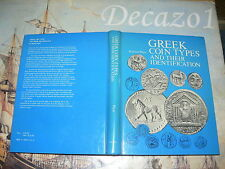 Plant, Richard: GREEK COIN TYPES AND THEIR IDENTIFICATION Seaby First print