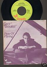 """GARY BROOKER No More FEAR OF FLYING 7"""" SINGLE 1979 Related Procol Harum"""