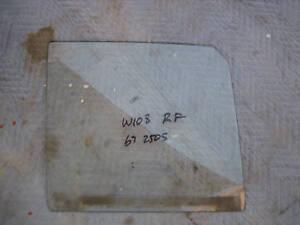 Mercedes W108 RF Window Glass 250S 250SE 280S 280SE