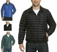 NWOT!!! Gerry Men's Sweater Down 650 Fill Puffer Jacket, Grey, Sz: Large