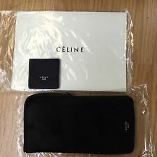 Authentic Latest Celine Suede Sunglasses/ Eyeglass Case/ Pouch