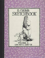 R Crumb Sketchbook Vol 5 Late 1967 & Early 68 1995 1st Hardcover Mr Natural NEW