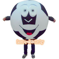 Adversting Soccer Wopld Cup Mascot Costume Football Cosplay Fancy Dress Adults