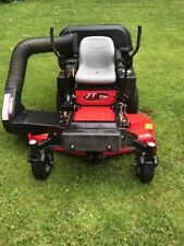 2016 Gravely ZT 52 Zero Turn Lawn Mower With Ariens Three Bag Bagging System