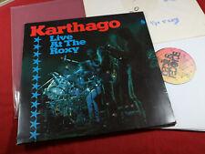 Karthago  LIVE AT THE ROXY  Bellaphon Bacillus BAC 2040 Germany 2 LP-Set sehr gu