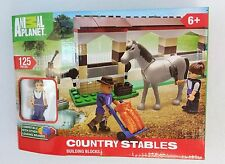 NEW Animal Planet COUNTRY STABLES Building Blocks 125 Pieces Works with LEGO