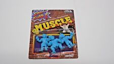 Street Fighter M.U.S.C.L.E  Muscle Blue Nerd Block Variant Super 7 C2E2