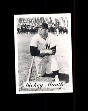 1996 TOPPS MICKEY MANTLE FOUNDATION TRIBUTE (D)