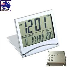 Desk Digital LCD Alarm Clock Time Calendar Temperature Thermometer HCLO 39101