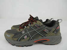 AsicsGel-Venture 5 Mens Size 8 Green Olive Athletic Trail Running Shoes T5N3N