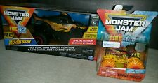 Monster Jam Fire&Ice R/C Megalodon Grave Digger Walmart EXCLUSIVE Lot 2019