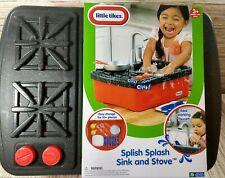 Little Tikes Splish Splash Sink and Stove Pretend Play Kitchen Running Water