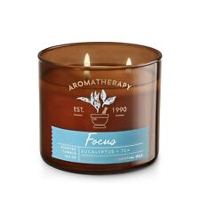 Bath and Body Works Aromatherapy FOCUS Scented Candle 14.5OZ
