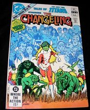 1982 Tales of the Teen Titans CHANGELING #3 VF+