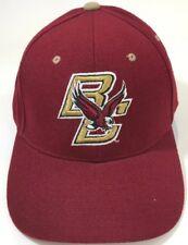 super popular df6c6 ef21f Boston College Eagles Zephyr Cardinal Red Stretch Fit Hat Cap SIZE 7 5 8