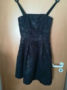 kurzes blau schwarzes Kleid von H&M - Größe 38 - neuwertig