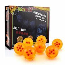 Pack 7 bolas Dragon Ball Z de 1 a 7 estrellas. Diametro 43mm. En estuche regalo