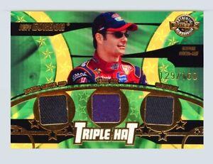 Jeff Gordon 2004 Wheels American Thunder Triple Hat 3X Driver Worn Hats #/160  A
