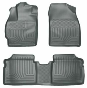 Husky Liners Classic Style Floor Mat 2010-2014 Fit Toyota Prius 1st/2nd Row-Grey