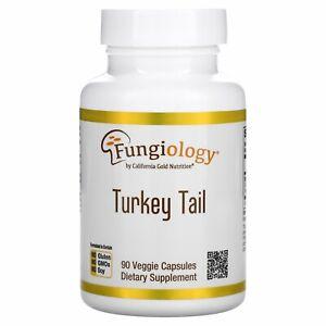 Fungiology, Full-Spectrum Turkey Tail, 90 Veggie Capsules