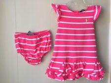 Ralph Lauren Casual 100% Cotton Dresses (0-24 Months) for Girls